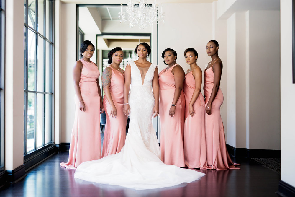 Houston Wedding- Pharris Photography- Nicole + Mike- Bridesmaids