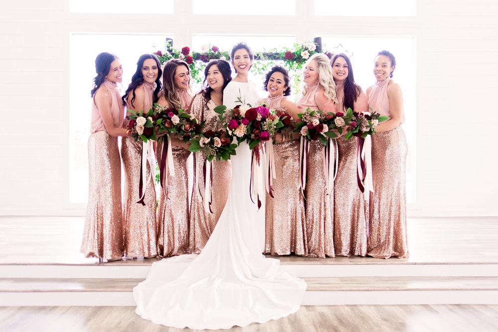 Pharris Photography- Texas Wedding- Melody and Moses- Bridesmaids