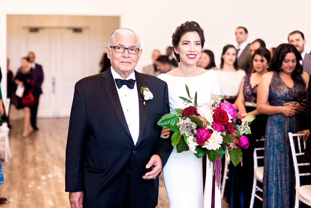 Texas Wedding- Pharris Photography- Melody + Moses- Father + Daughter
