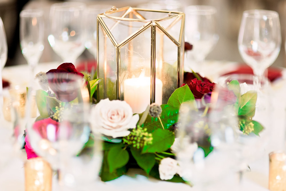 Texas Wedding- Pharris Photography- Melody + Moses- Wedding Details- Table Centerpiece