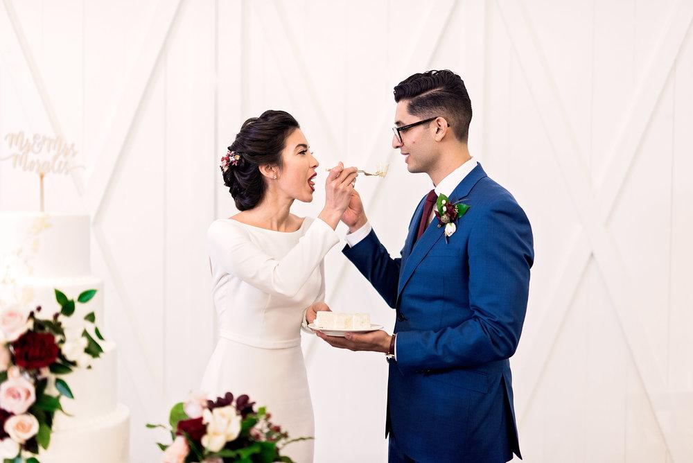 Texas Wedding- Pharris Photography- Melody + Moses- Wedding Cake