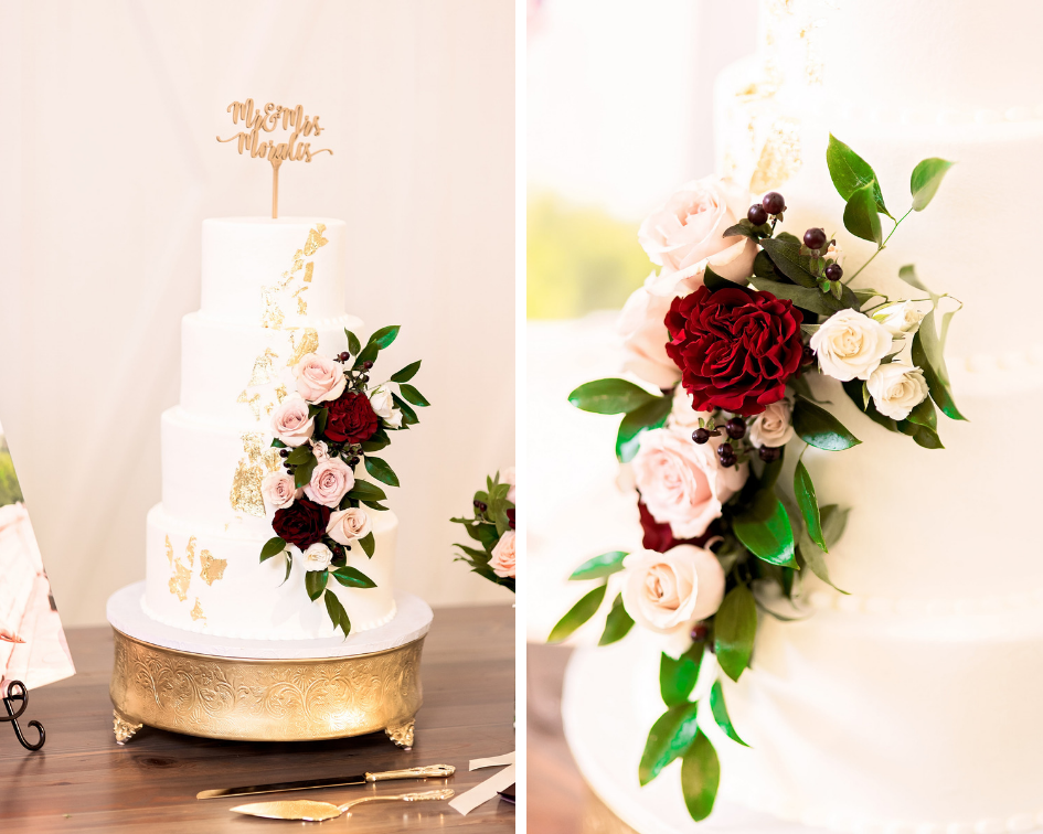 Texas Wedding- Pharris Photography- Melody + Moses- Wedding Cake- Florals- Wedding Details