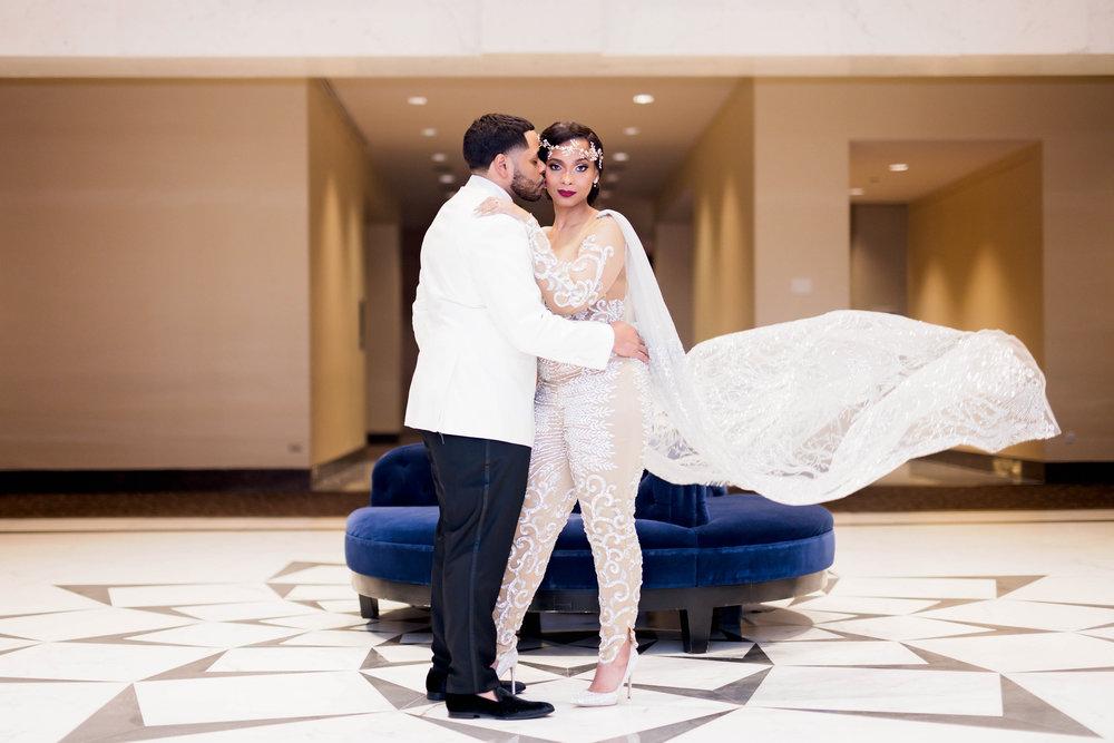 Pharris Photography- Houston Wedding- Krystyn and Joshual- Texas Wedding- Lace Wedding Dress- Jumpsuit