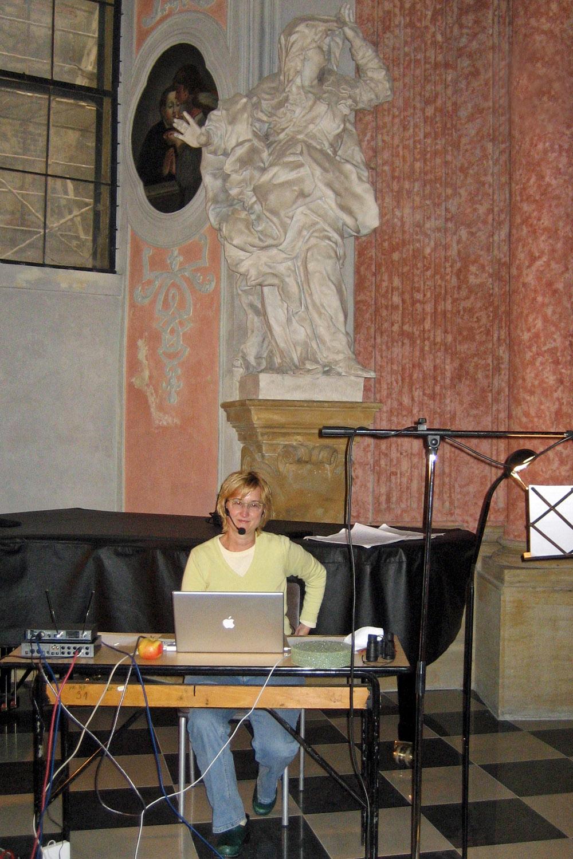 Rehearsing in Olomouc, Czech Republic