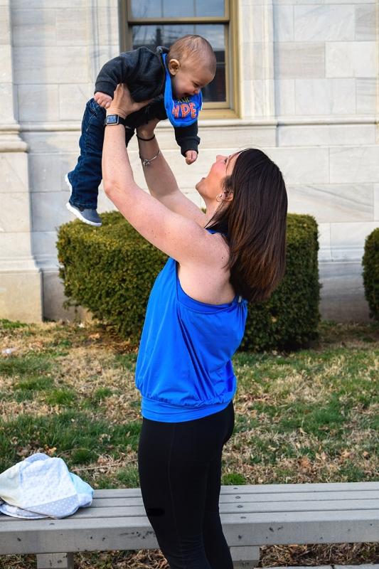 mom-wearing-nursing-tank-top-holding-baby