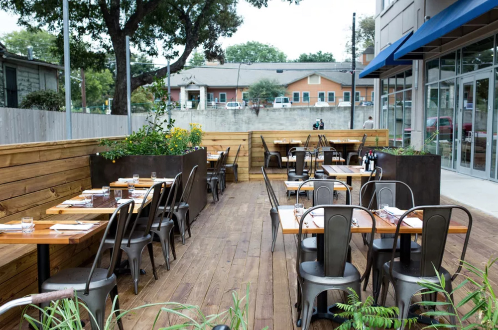 restaurant tables, outdoor tables