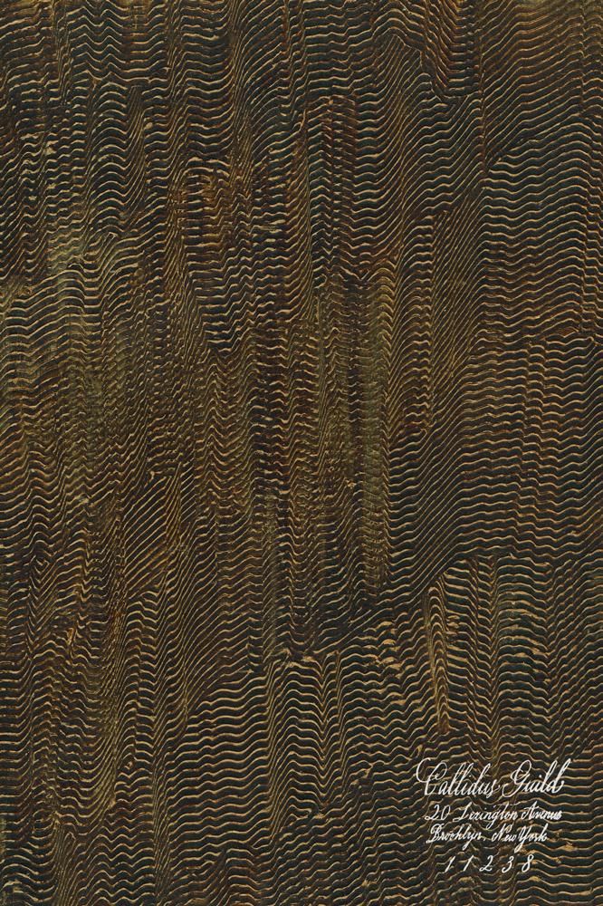 PM-6037 Waxed Deco Daub - Dark Chocolate