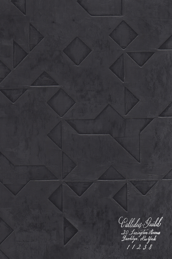 WP-1250 Folded Origami - Caviar