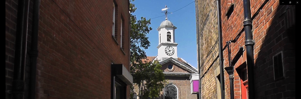 See Behind The Scenes of St Georges Church On The High Street In Deal