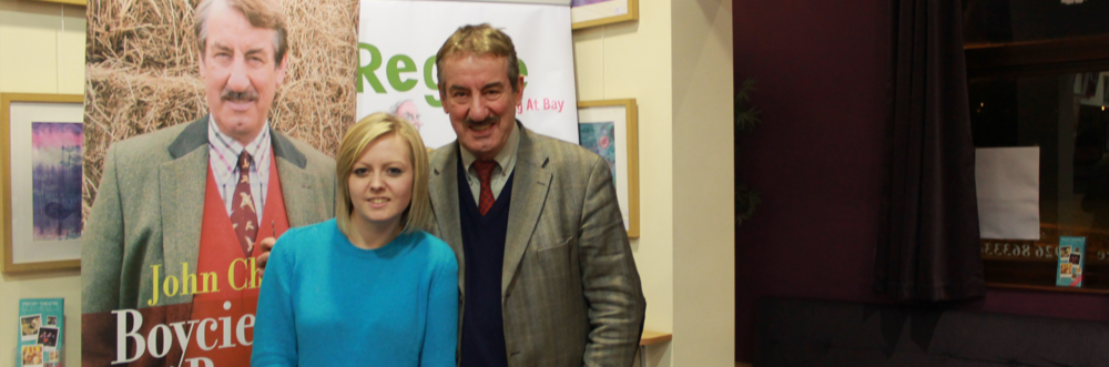 John Challis, aka Boycie from Only Fools and Horses chats with Greer Riddell