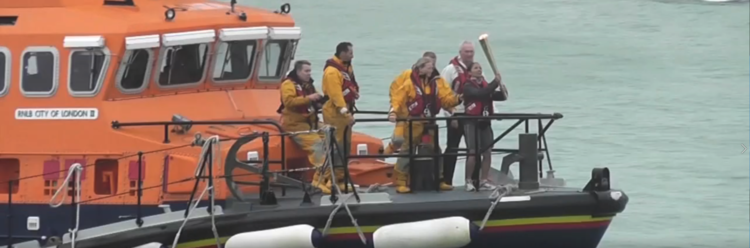 Relive The Moment The 2012 Olympic Torch Arrived By Boat In Dover