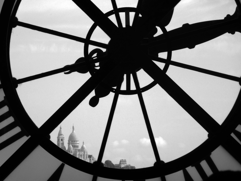 Montmartre as seen from Musée d'Orsay. Published in 2013's Spiritus Mundi, CSU's Honors literary magazine.