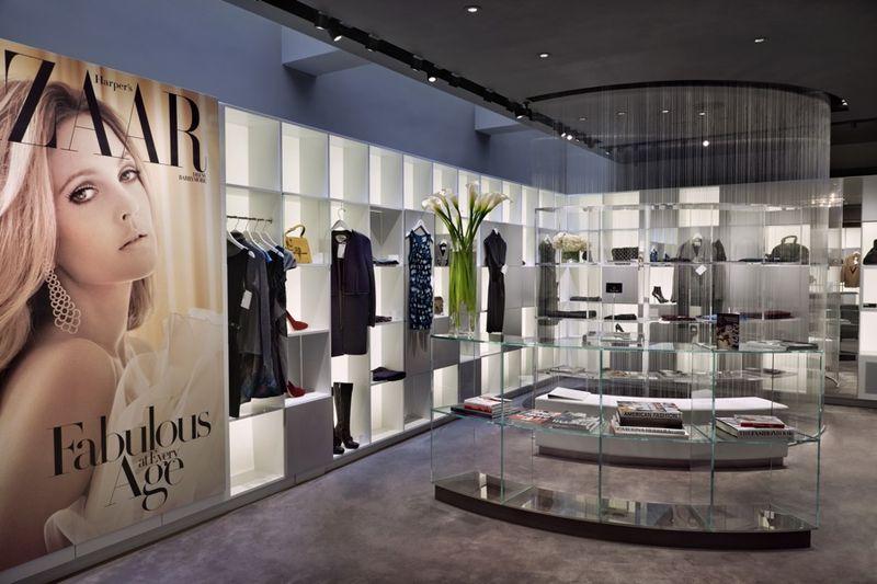 600 strands of monofiliament;Harper's Bazaar Style Suite, Manhattan, NY