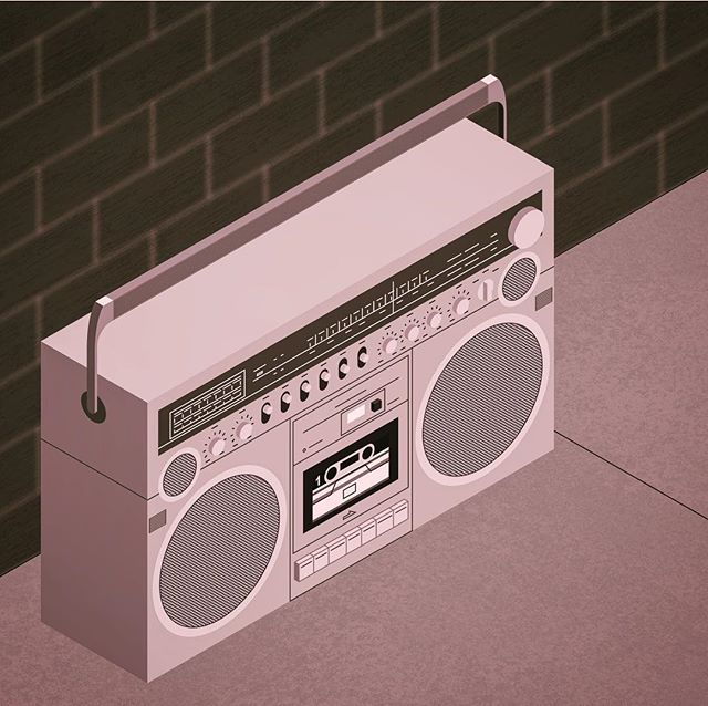 i couldn't survive without my radio #illustration