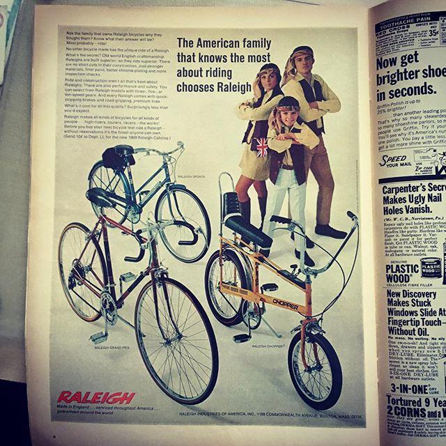 Chopper @allhailtheblackmarket #lifemagazine1969