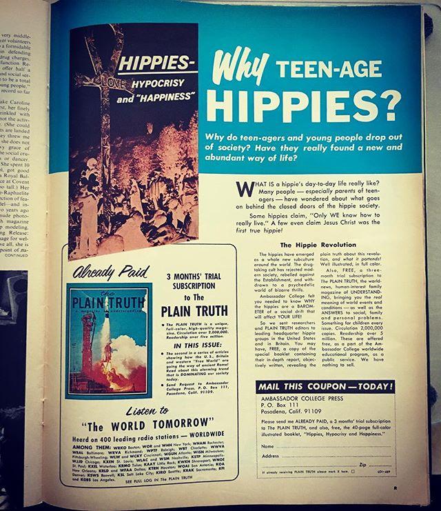 Rhetoric of rhetorical faith based questioners. #lifemagazine1969
