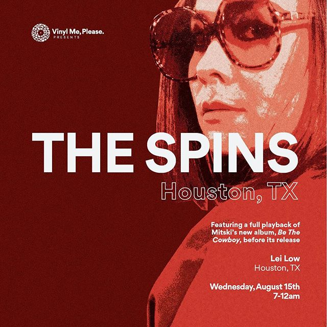 ⠀⠀⠀ ⠀⠀⠀⠀⠀⠀⠀⠀⠀⠀⠀@vinylmeplease Presents... ⠀ ⠀⠀⠀⠀⠀⠀⠀⠀⠀#thespins at @leilowhtx ⠀⠀⠀ ⠀ ⠀⠀⠀⠀⠀⠀⠀08/15/18 | 6412 N. Main ⠀⠀⠀⠀ ⠀⠀⠀⠀#vinylgiveaways & drinks!