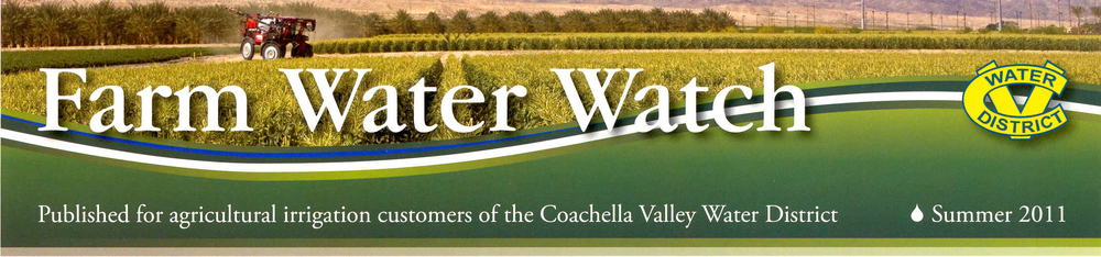 "News Article: ""Irrigation project brings canal water to farms""   Coachella Valley Water District project with engineering support provided by OES"