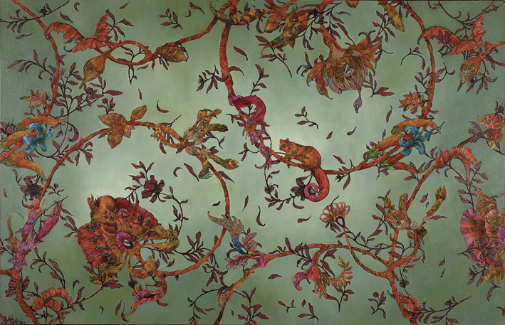 Gould's Chintz III, 2011