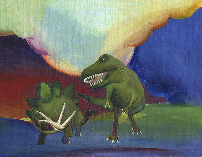 Dino world #3
