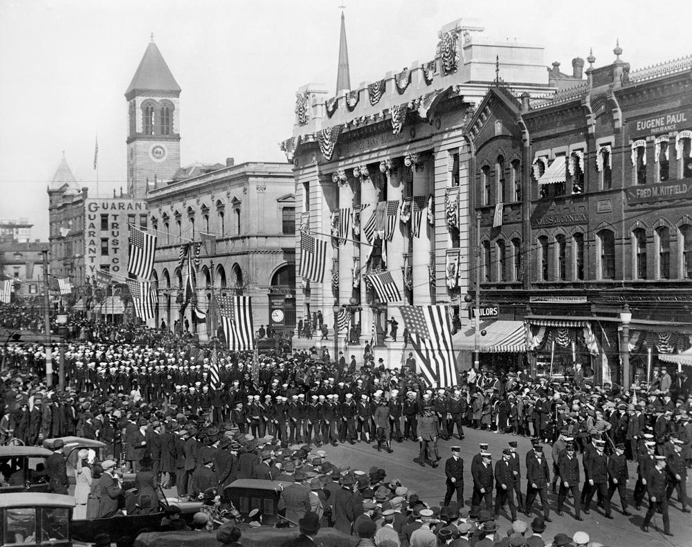 Victory Parade in Central Square | Mass+Main, Cambridge, MA