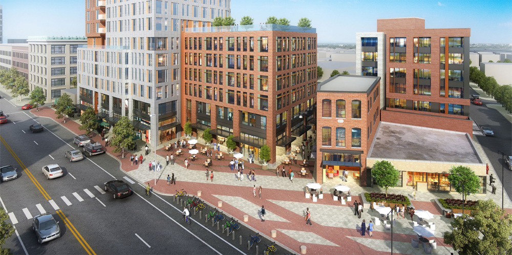 Retail Plaza on Mass Ave | Mass+Main, Central Square, Cambridge