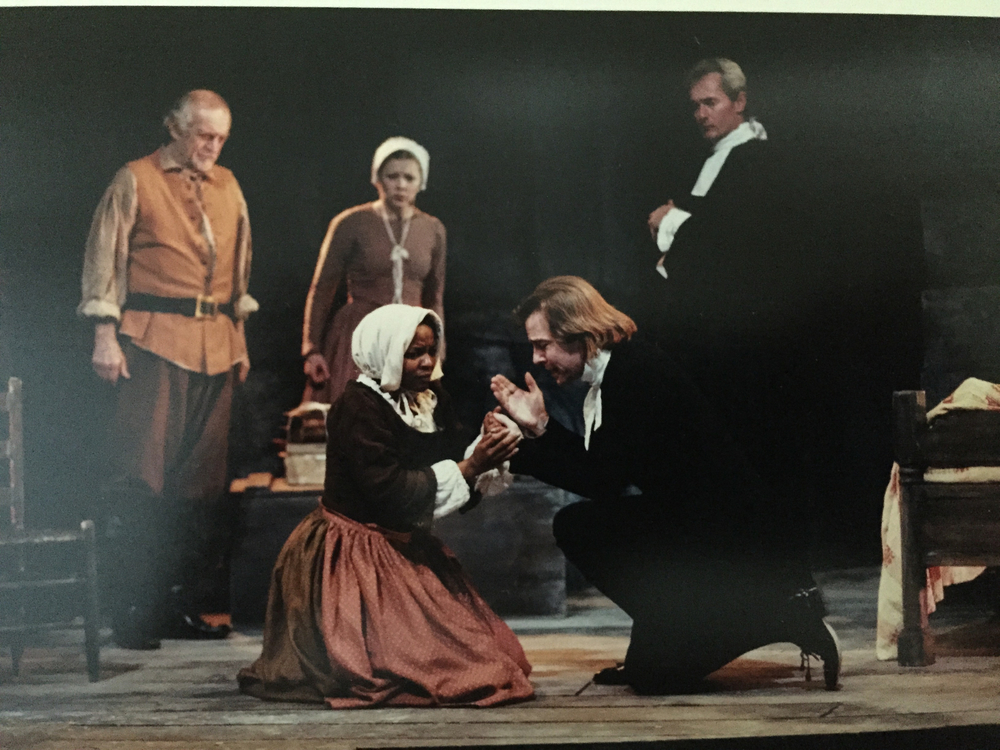"Linda as Tituba in ""Crucible"" directed by Bonnie Monte."