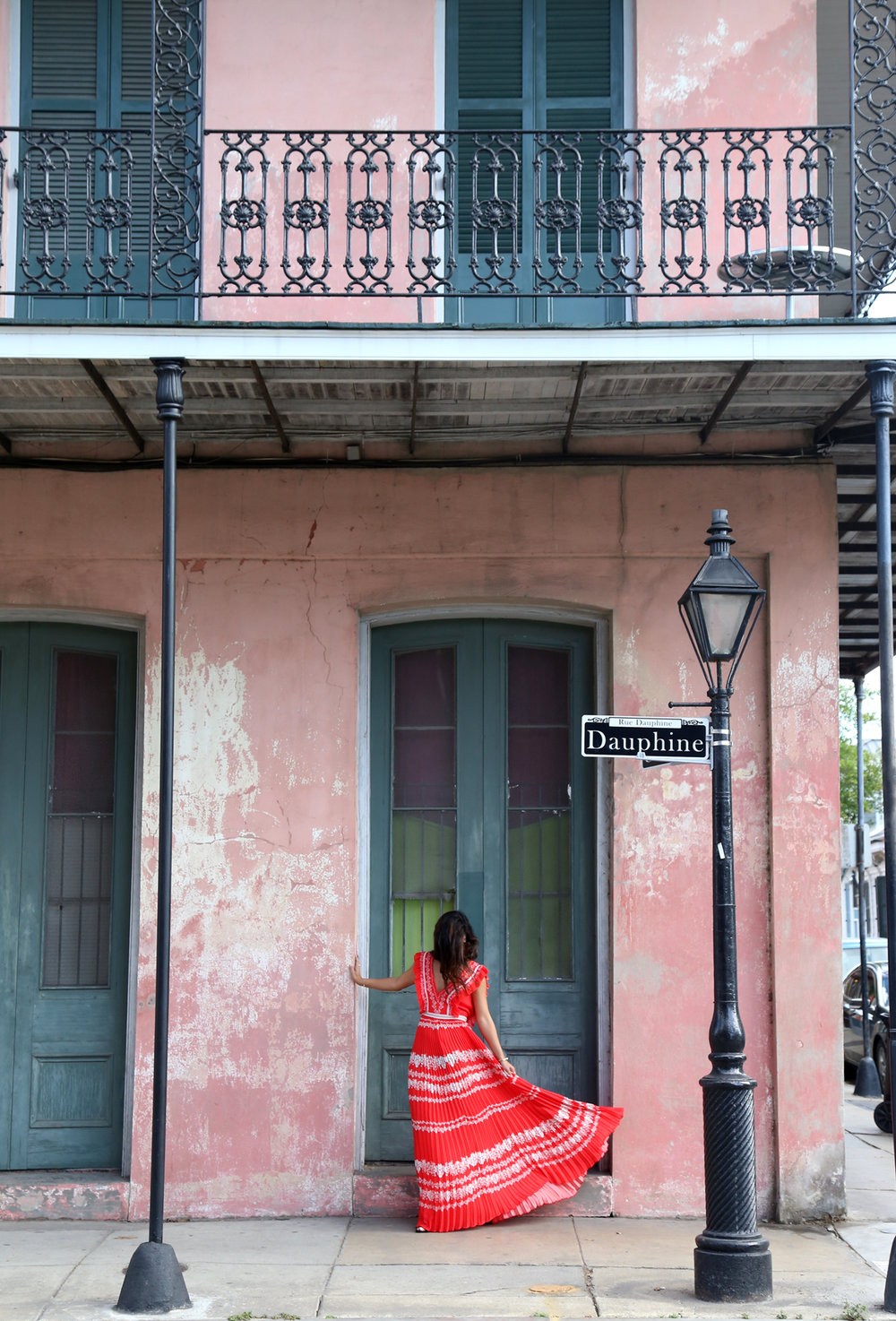 Krystal Bick, of This Time Tomorrow, photographed in New Orleans