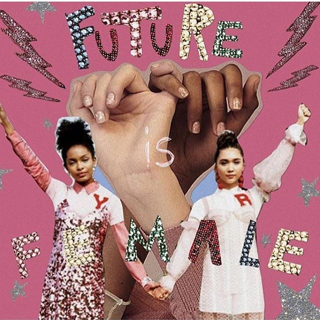 Keep kickin' ass out there babes, today and everyday just like you always have. 🔮✨ image via @labyrinthofcollages
