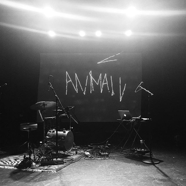 Stage set for @anima.worldwide last night