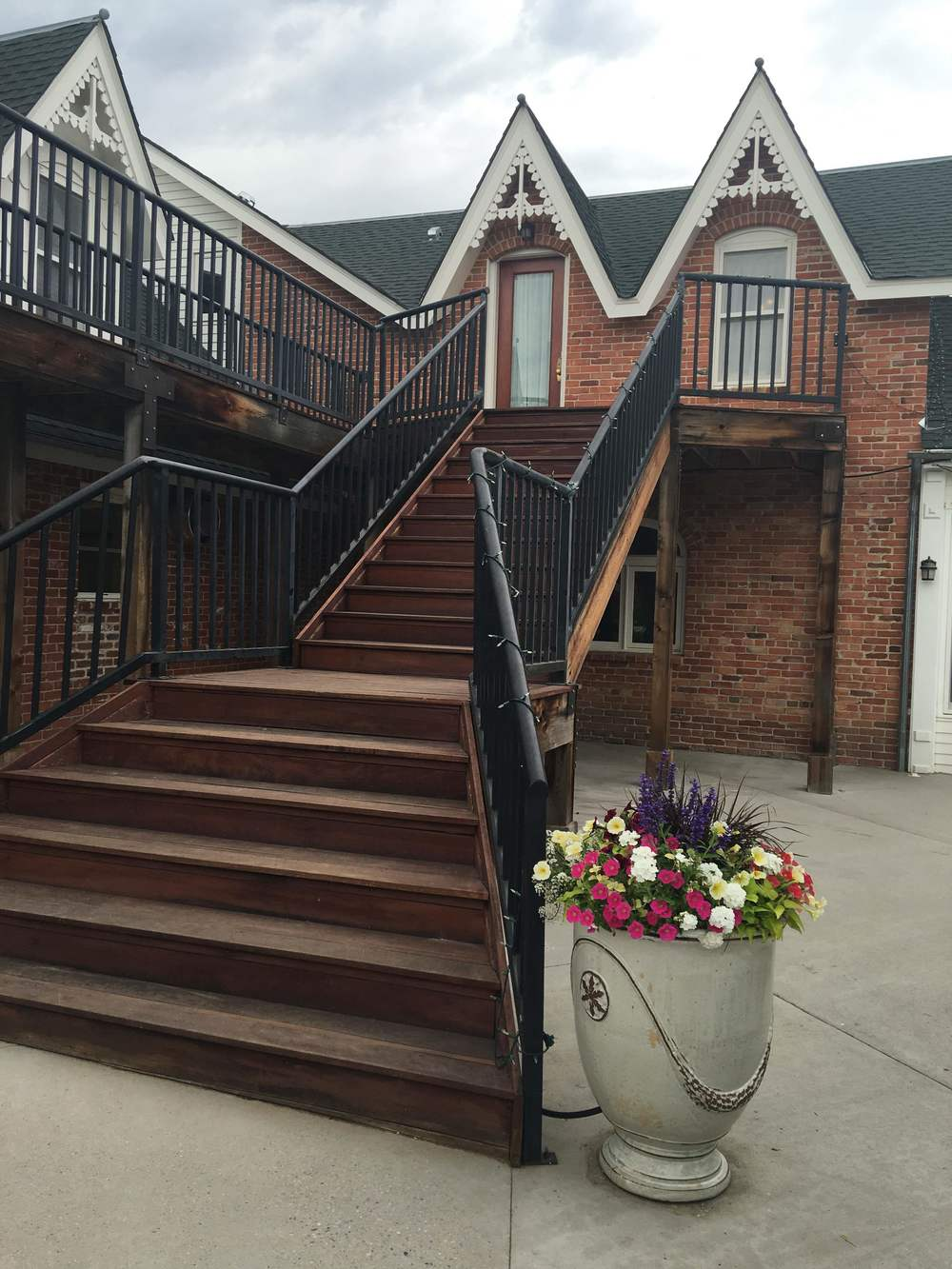 This is the grand entrance stairway.