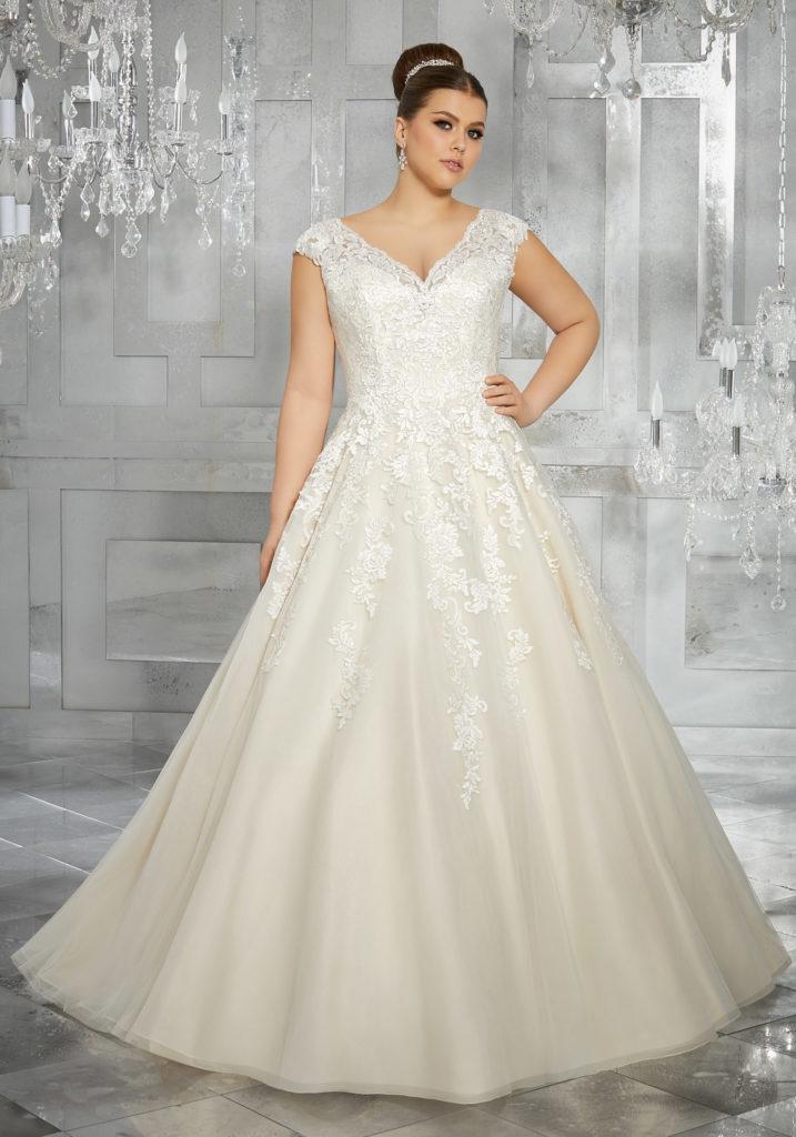 plus size wedding dresses — dora grace bridal