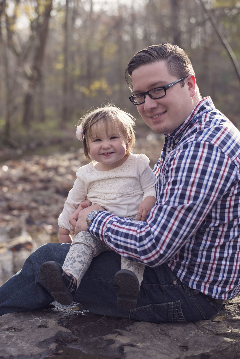 Recent photo of Owner/Lead Photographer Chris Birkmeyer with daughter Audrey Mae.