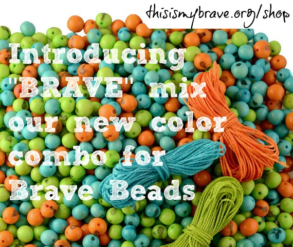 This Is My Brave Beads