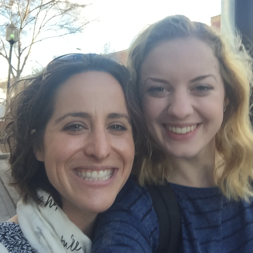 Greenville Producer Rebecca (left), and Co-Producer Julia (right)