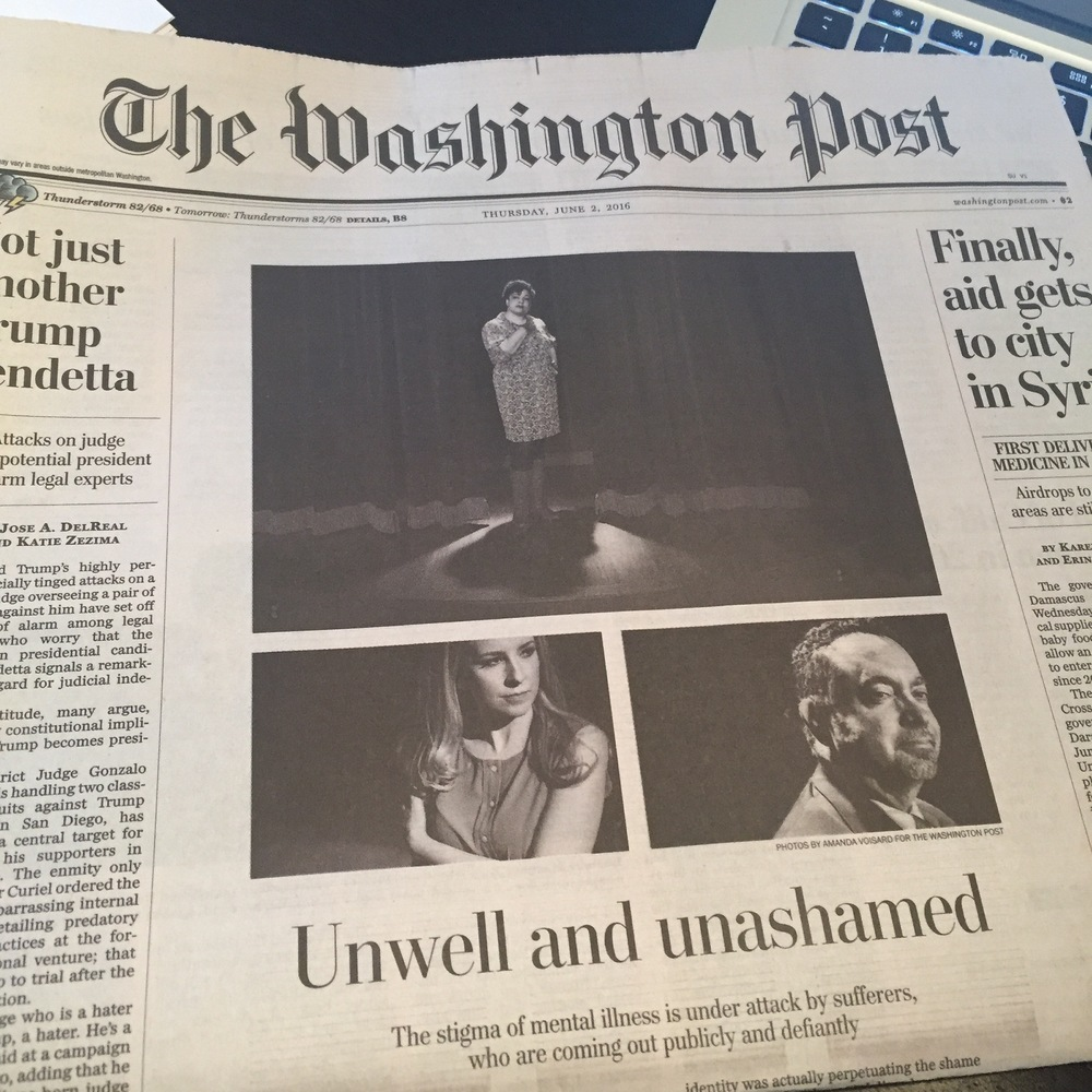 Front page of the Washington post, June 2, 2016 (online story was published on June 1, 2016 and again on june 2, 2016).