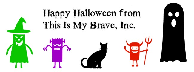 Happy Halloween! This Is The #FaceOfMentalIllness