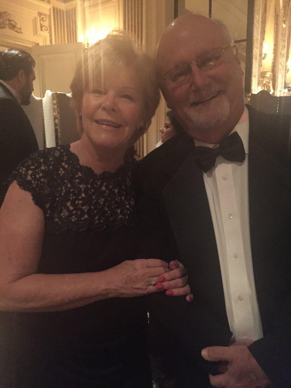 Linda and dan Killi, parents of co-founder/executive director, Jennifer marshall