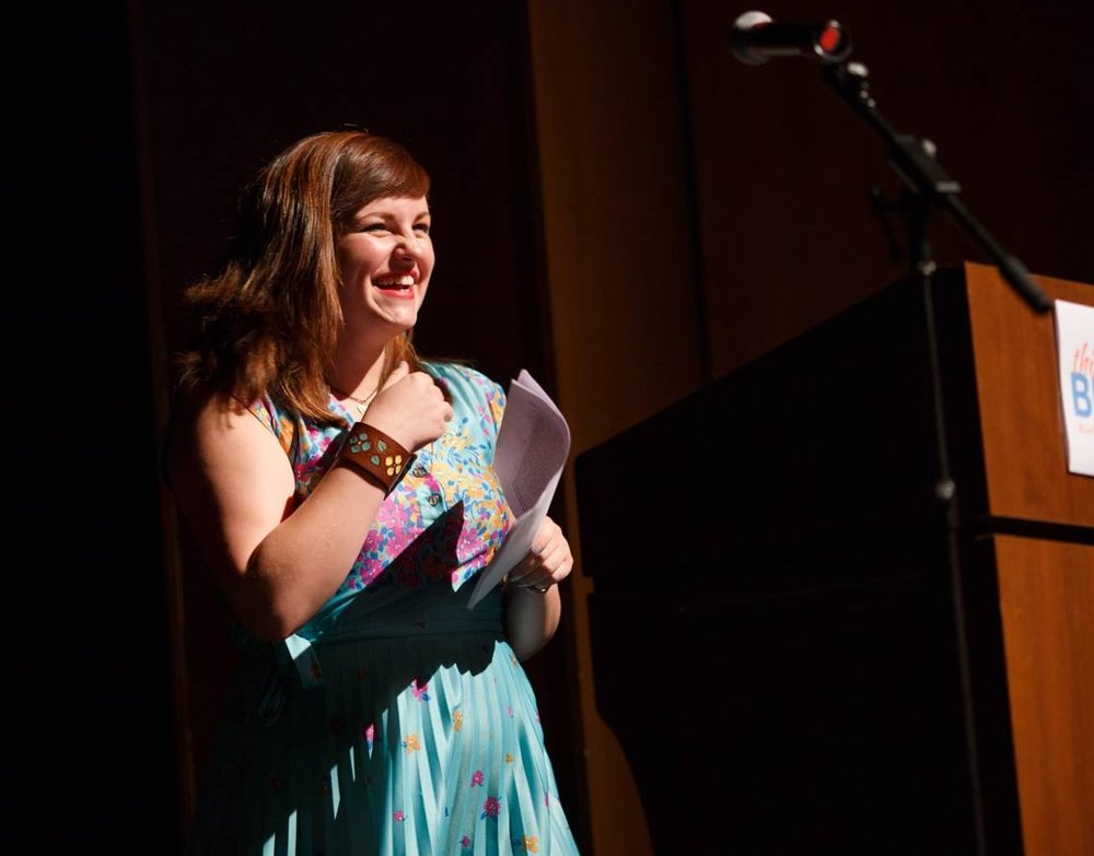 """""""The impact of the This Is My Brave experience was … profound. Participating in the show made me feel like I could speak up for myself and love myself without shame."""" - Alyssa Turcsak, This Is My Brave Iowa City storyteller, 2016"""