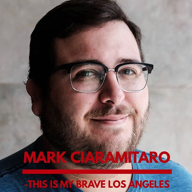 Introducing Mark from This Is My Brave LA! Mark will be sharing his story live on stage on September 24th. Click the link above to learn more about Mark and to get your tickets for the show today!