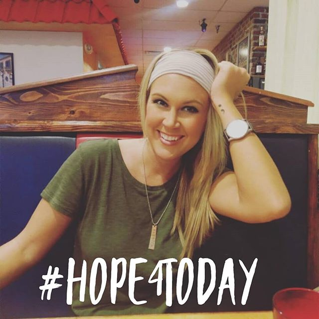 """My #Hope4Today is choosing to believe that my life has a purpose. Seasons of darkness will come, but that's all it is, a season. In the big scheme of things, my life has meaning and purpose. I have a light to shine. A story to tell. And an impact to make."" . . . . Thank you to our 2017 Iowa alum, Chelsey (@_chelsey.marie ) for sharing your #Hope4Today!"