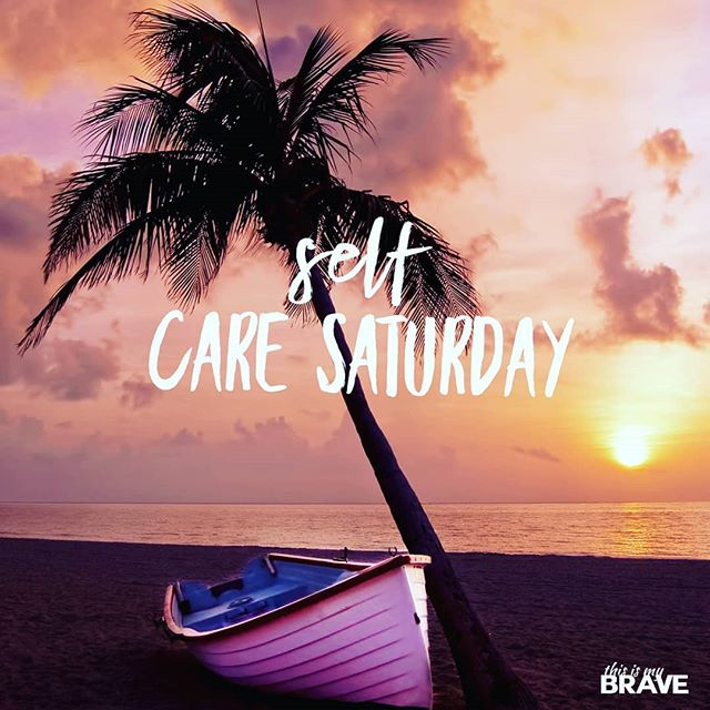 We hope you are having a great #SelfCareSaturday!