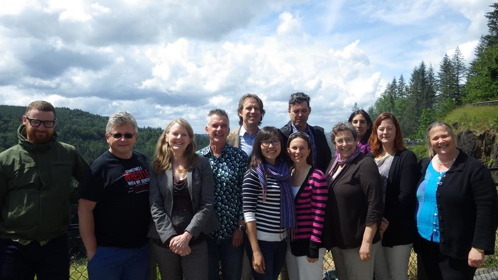 CITES and marine fishes think tank in Seattle, 2016.