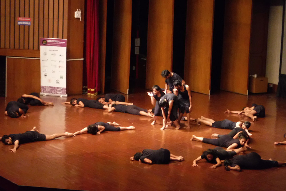 """How to be a fig"" dance performance at SCCS Bengaluru.jpg"