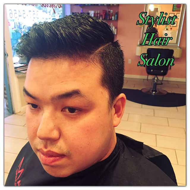 #StylistHairSalon #SanLeandro #Haircut