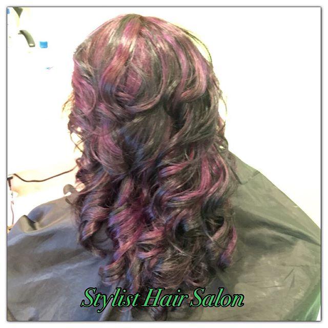 #HairColor #StylistHairSalon #SanLeandro
