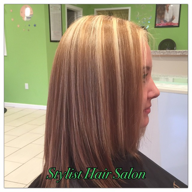 #Highlight #Color #StylistHairSalon #SanLeandro