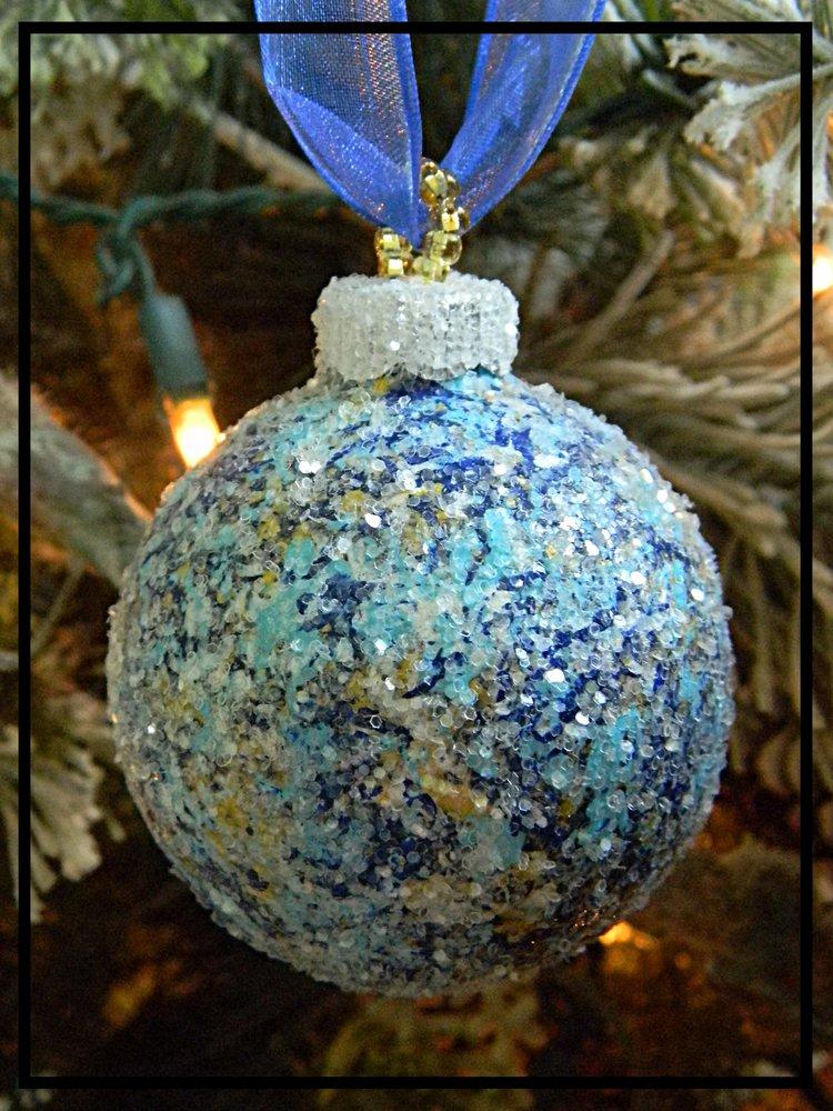 unique nautical glass christmas ornaments