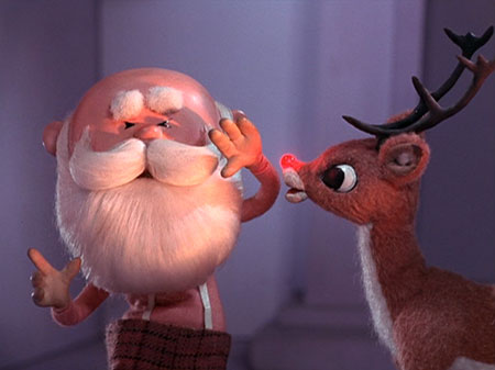 the gospel according to rudolph - Rudolph And Santa