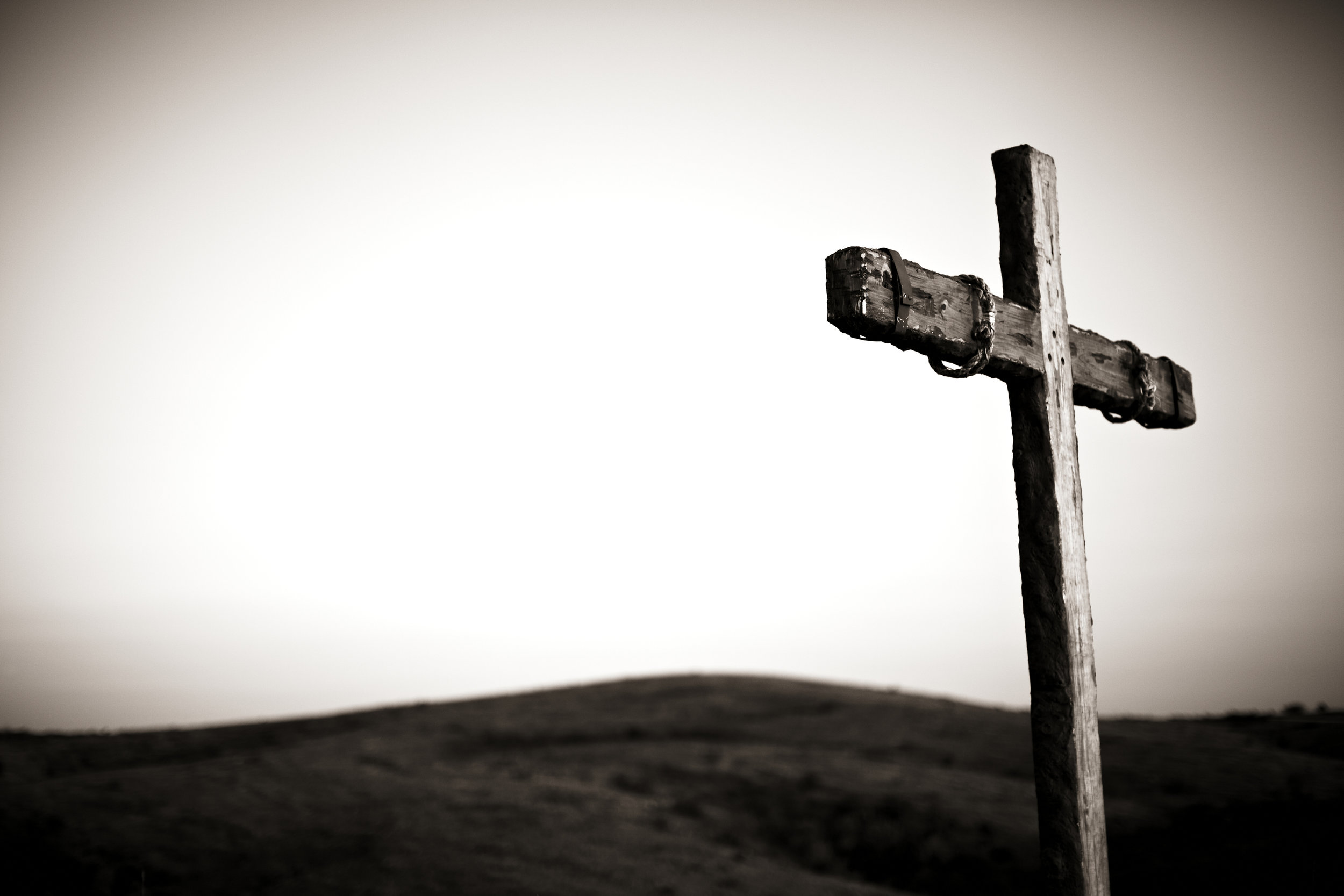 the resurrection is not greater than the cross christ hold fast